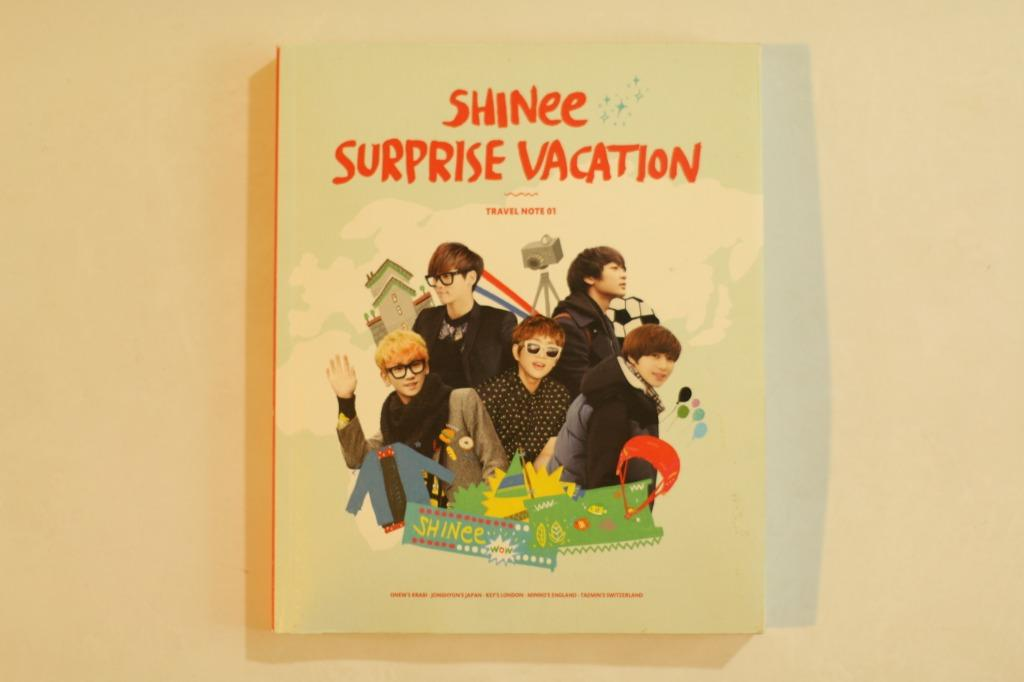SHINee SURPRISE VACATION 寫真冊