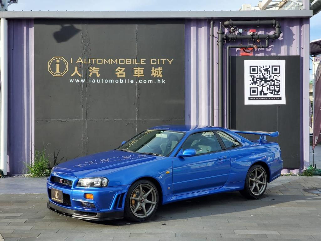 1999 NISSAN SKYLINE GTR R34 S1 Manual