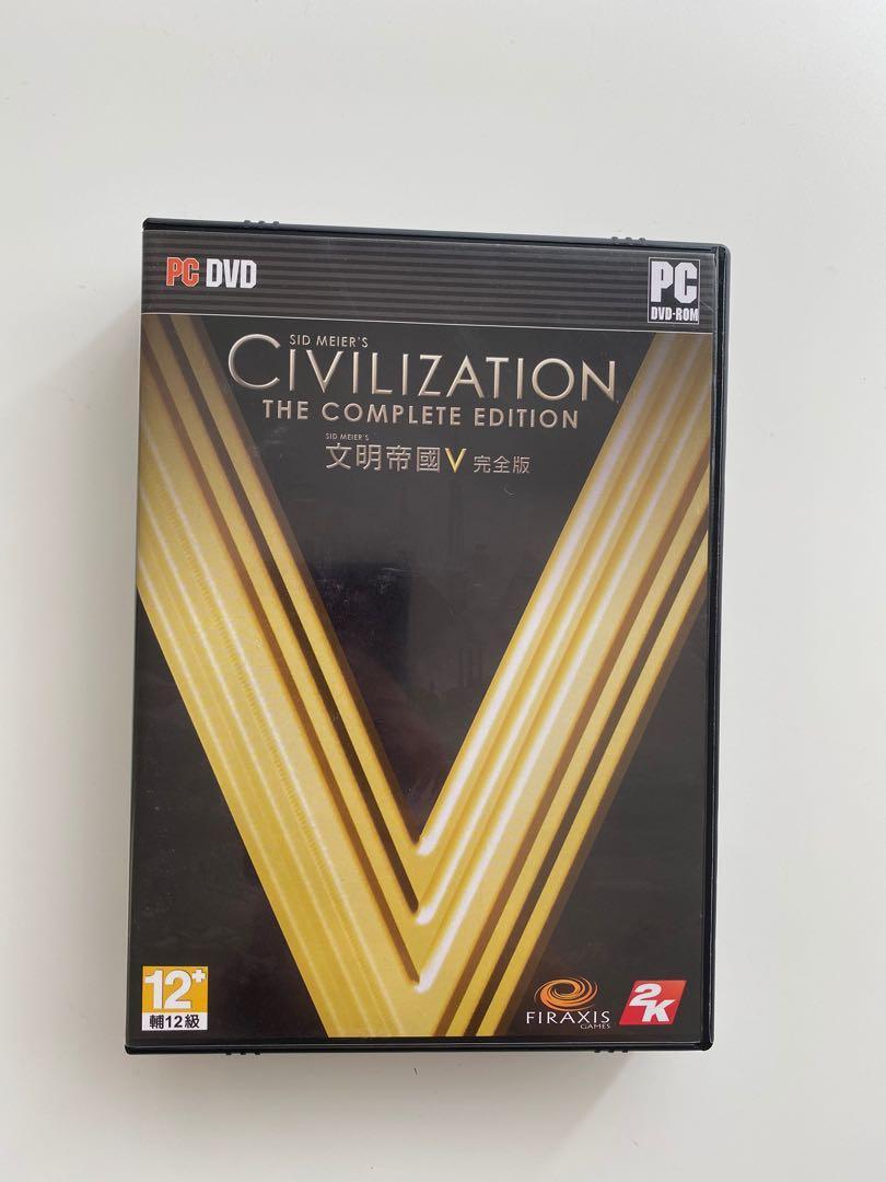 文明帝國5 PC中文完全版Civilization V the complete edition #new start