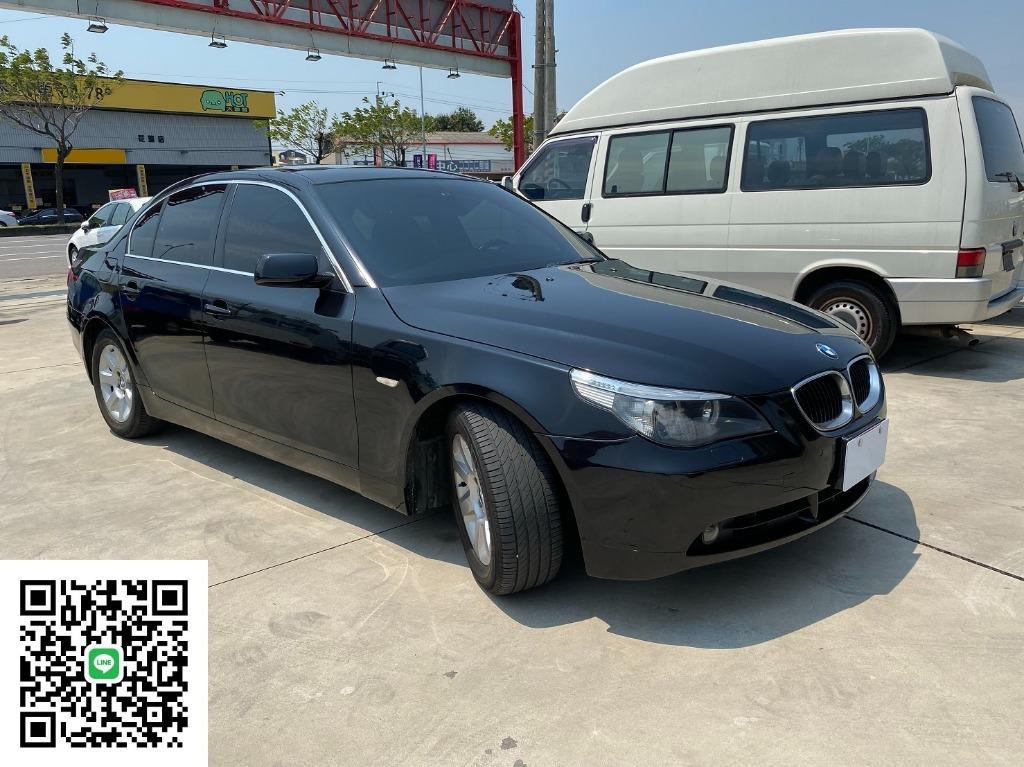 [強力過件 可超貸5~25萬隨你貸] 2005年 BMW 530i 黑色黑內裝 總代理 非E200 E220 E250 520d 535 528