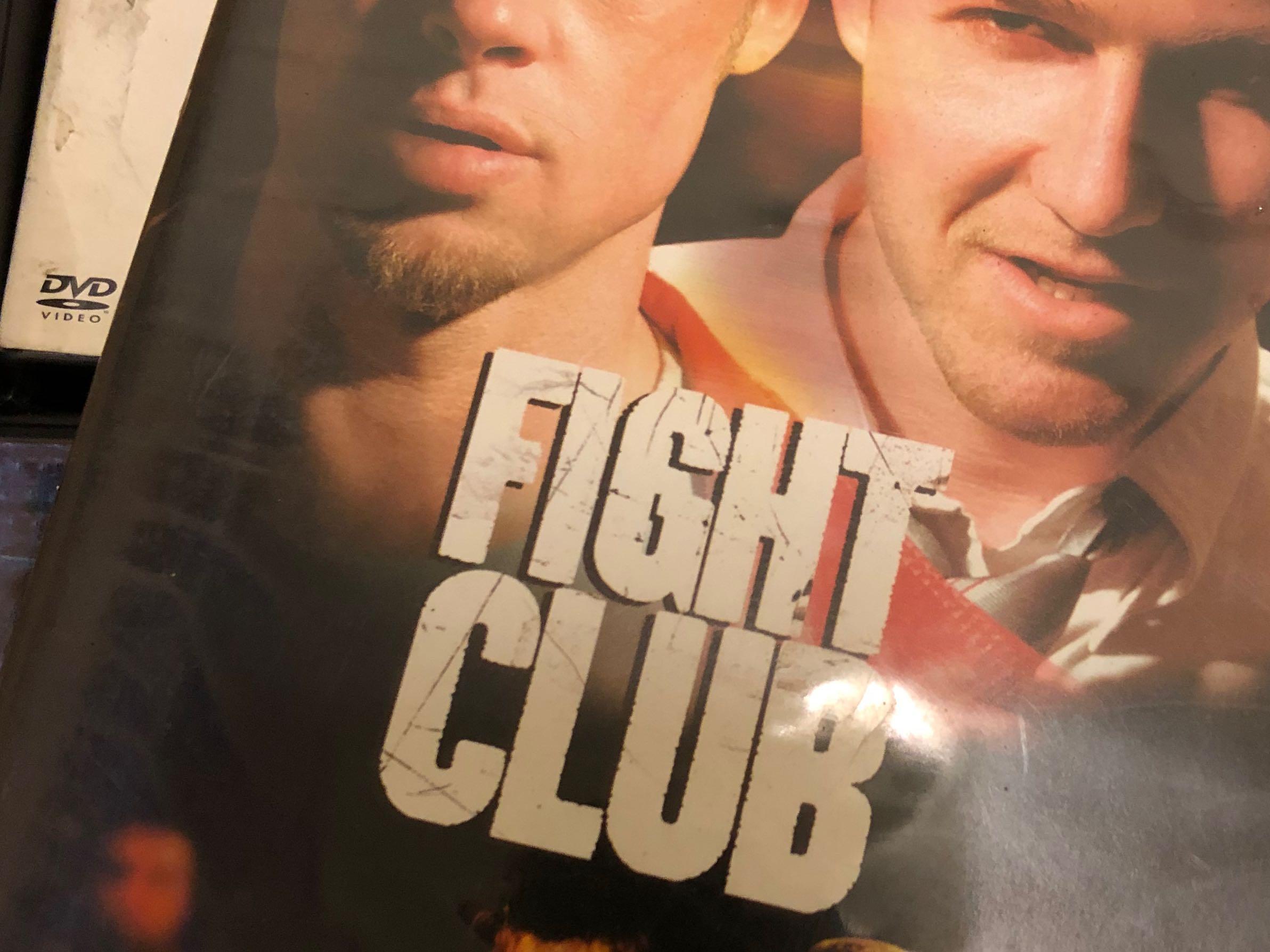 鬥陣俱樂部 Fighting Club 布萊德彼特 艾德華諾頓