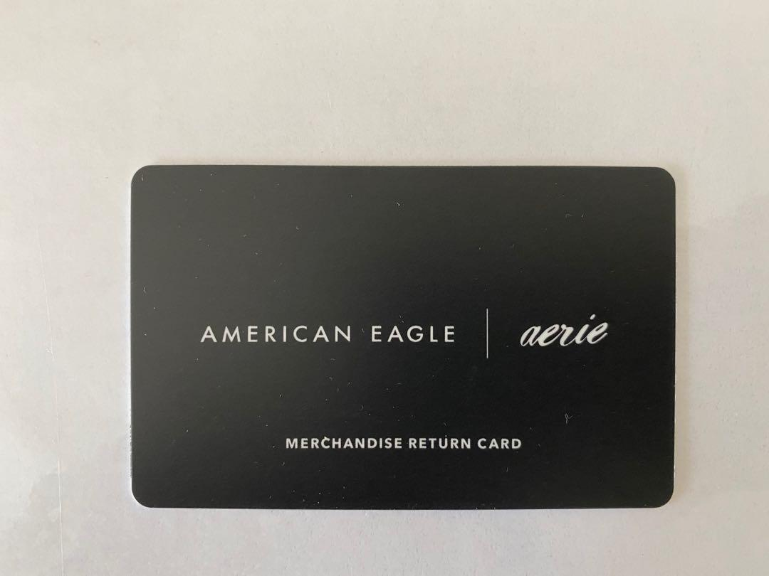 American Eagle Merchandise Card ($58.71 value)