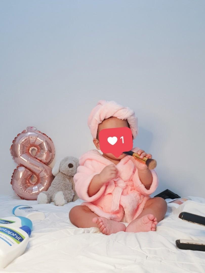 Baby Bathrobe Costume Babies Kids Babies Apparel On Carousell