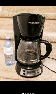 Black and Decker coffee machine, like new