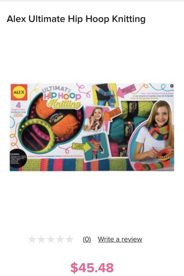 Bnib knitting gift set