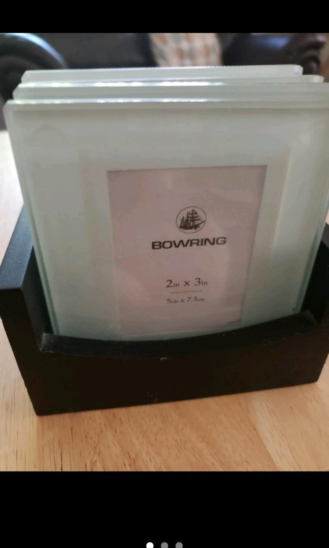 Bowring picture frame coasters