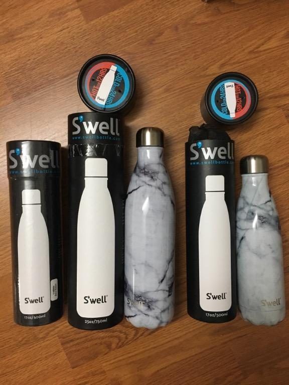 Brand New Swell Water Bottles 500ml and 750ml