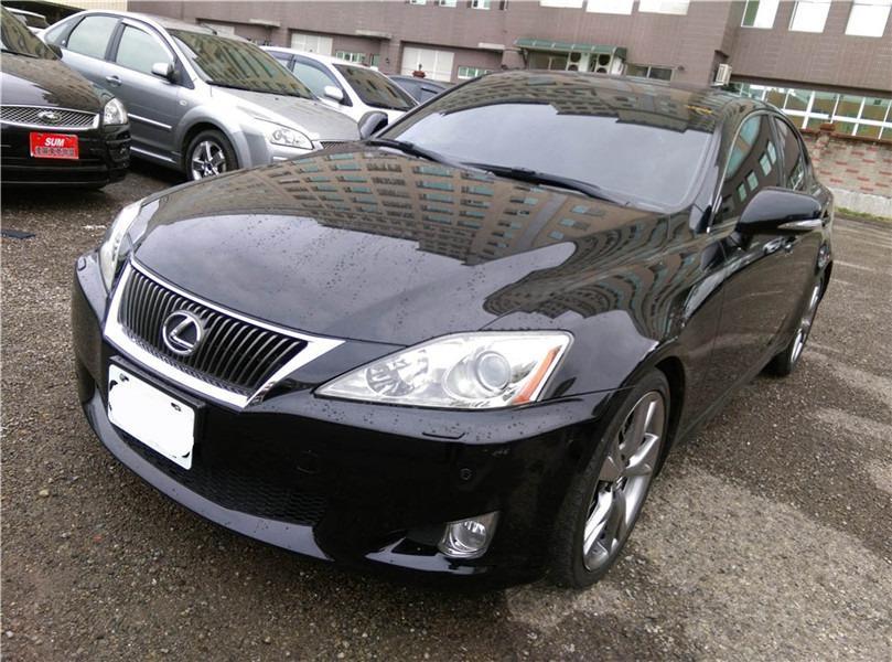 FB搜尋【世康中古車買賣】《熱門車款》2009年凌志 IS250 黑色黑內裝