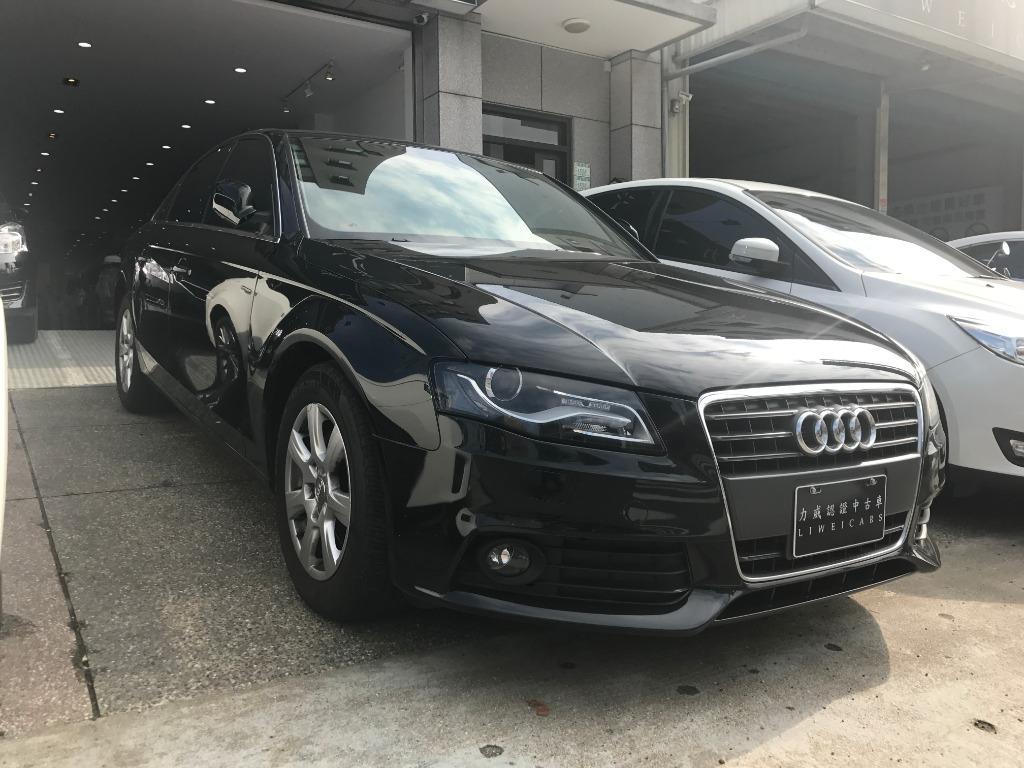 FB搜尋【世康中古車買賣】《熱門車款》2010年 奧迪  1.8T A4 黑