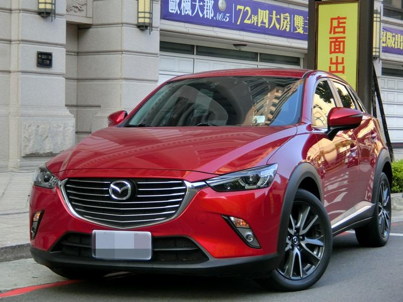 Fb搜尋🔍阿哲中古車買賣 粉絲專頁 2015年 馬自達 CX-3紅2.0柴油