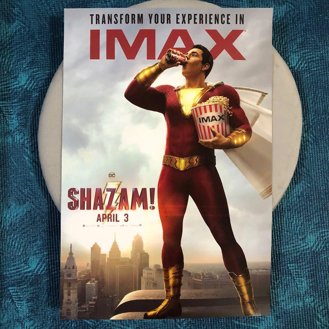 沙贊IMAX海報