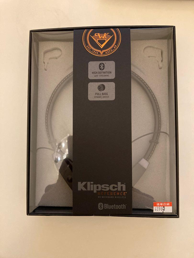 Klipsch r5 reference neckband wireless美國音響大廠藍牙耳機