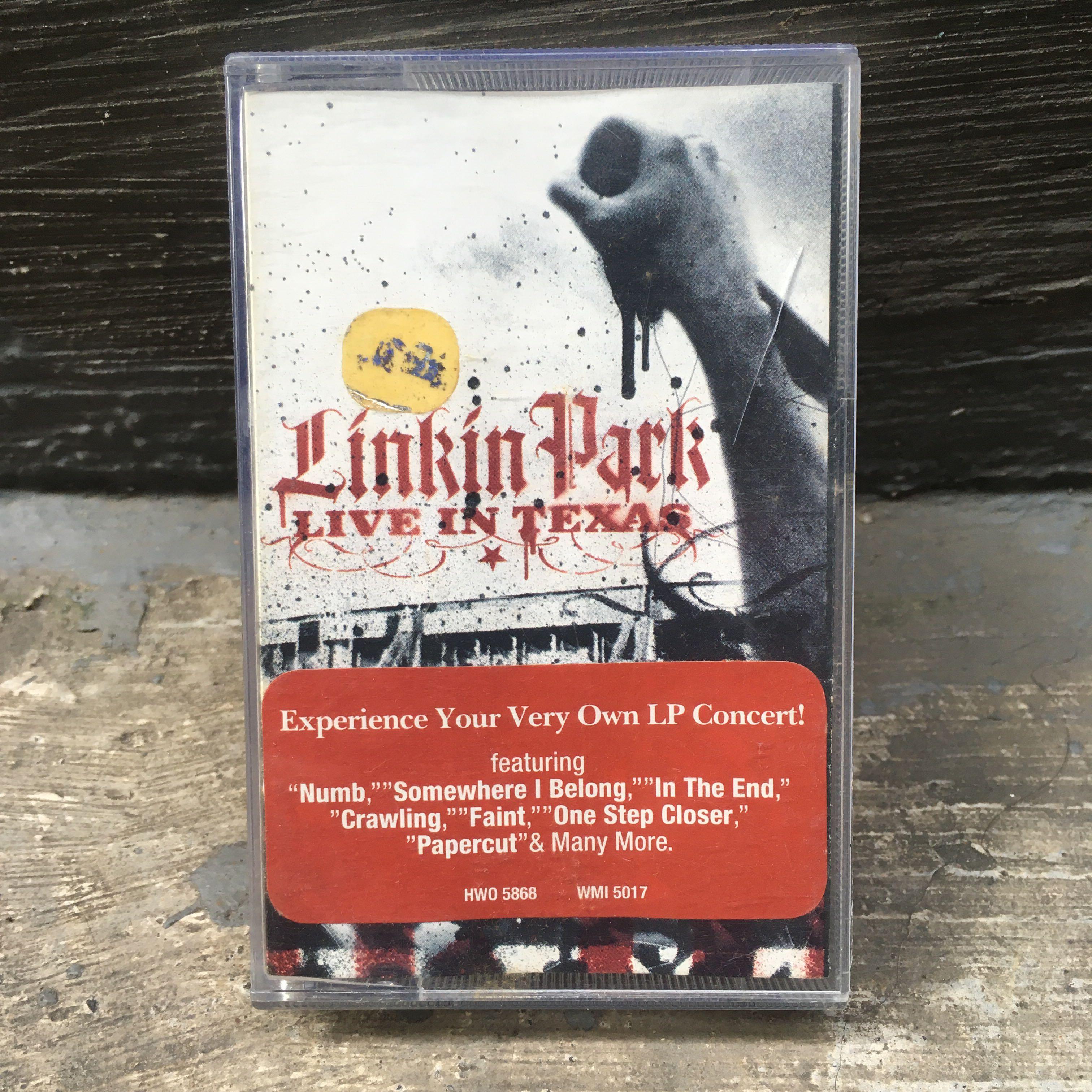 "Linkin Park ""Live in Texas"" Cassette"