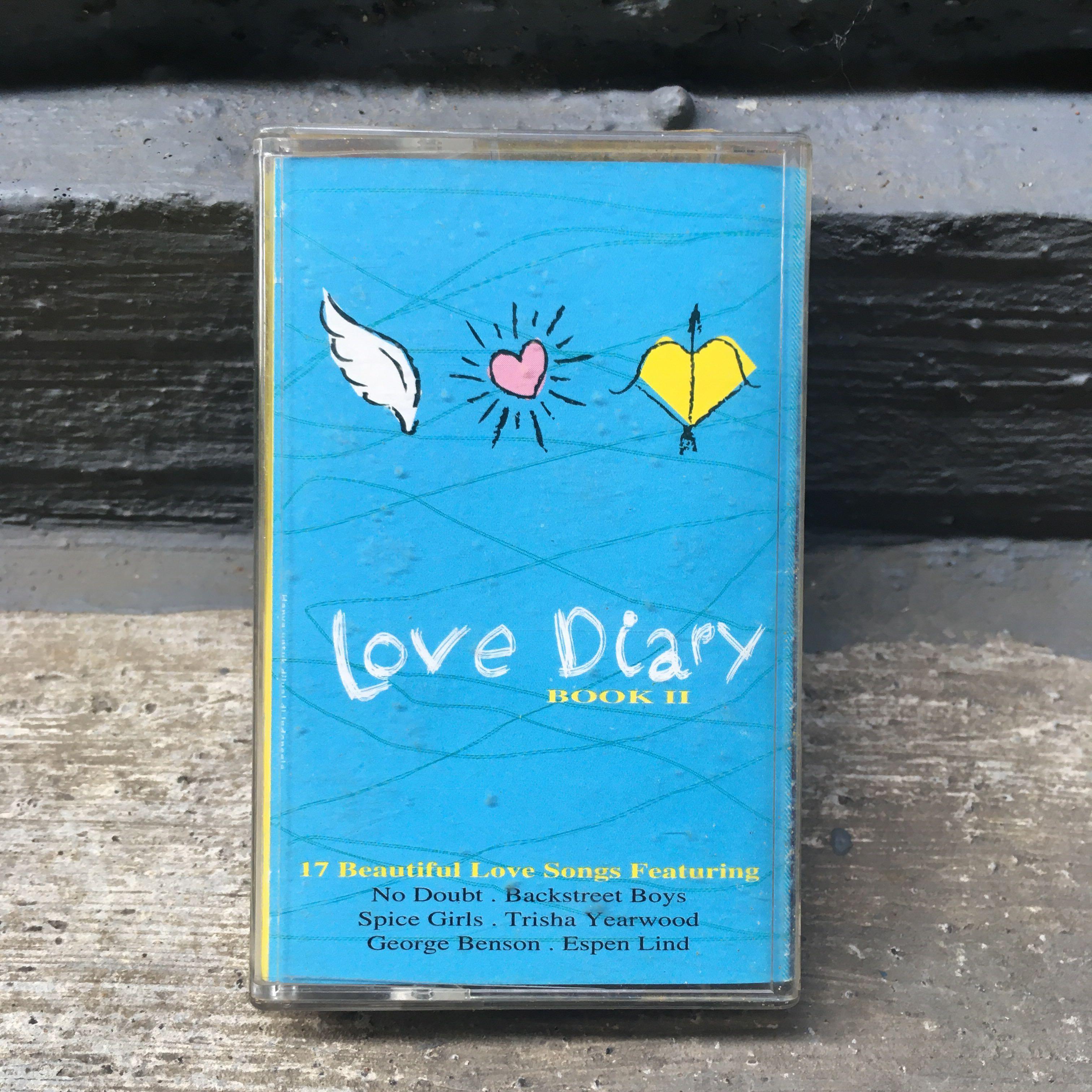 """Love Diary """"Book II"""" Cassette"""