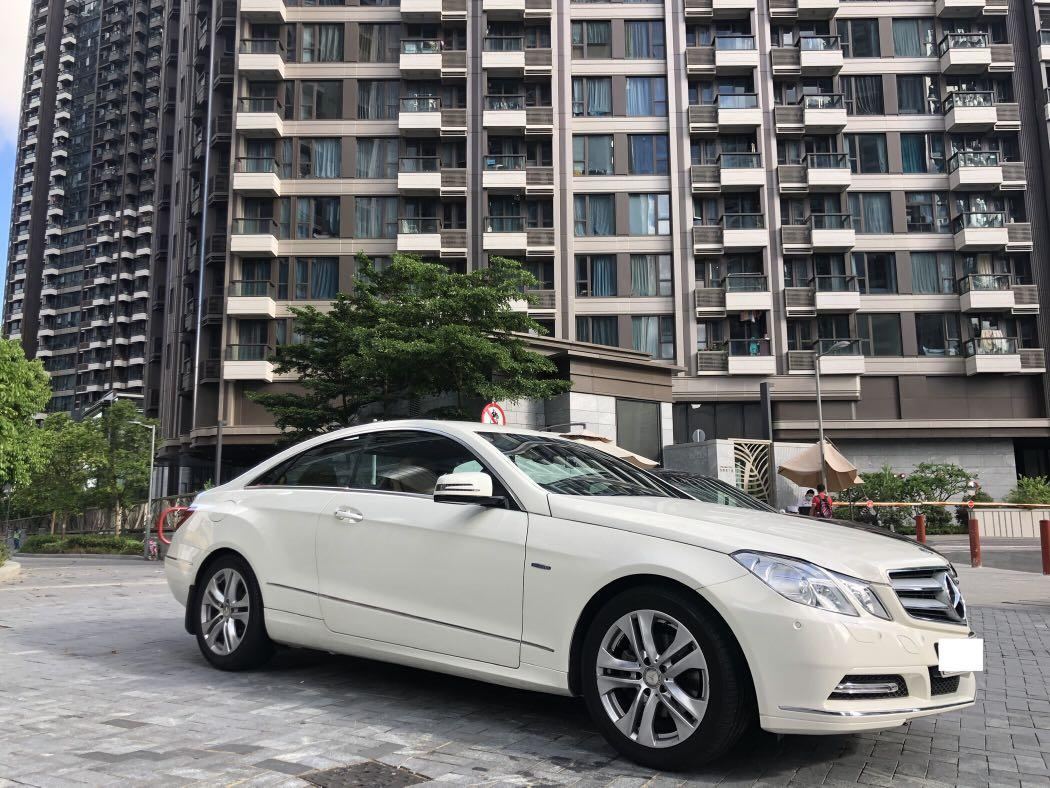 Mercedes-Benz E250 Coupe CGI BlueEfficiency Auto