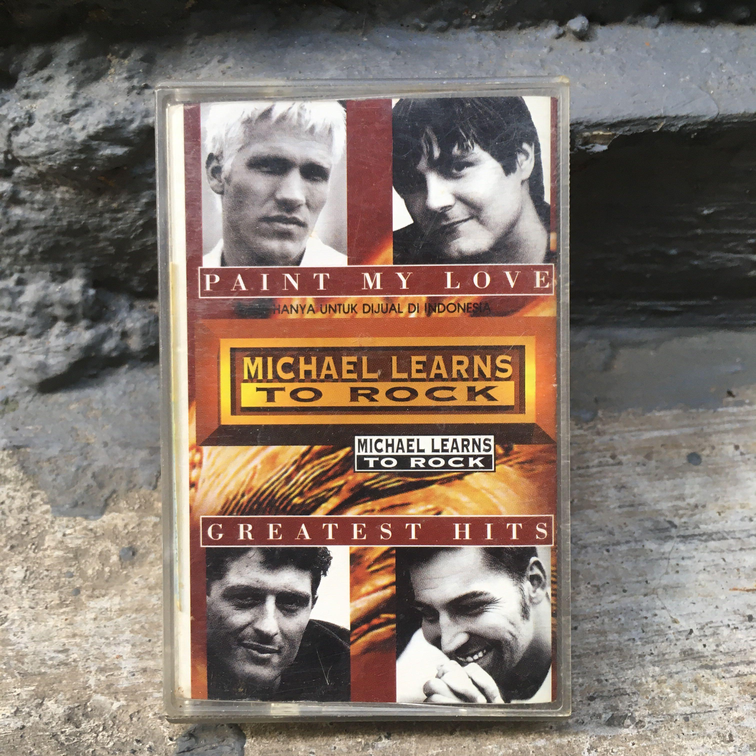 """Michael Learns To Rock """"Greatest Hits"""" Cassette"""