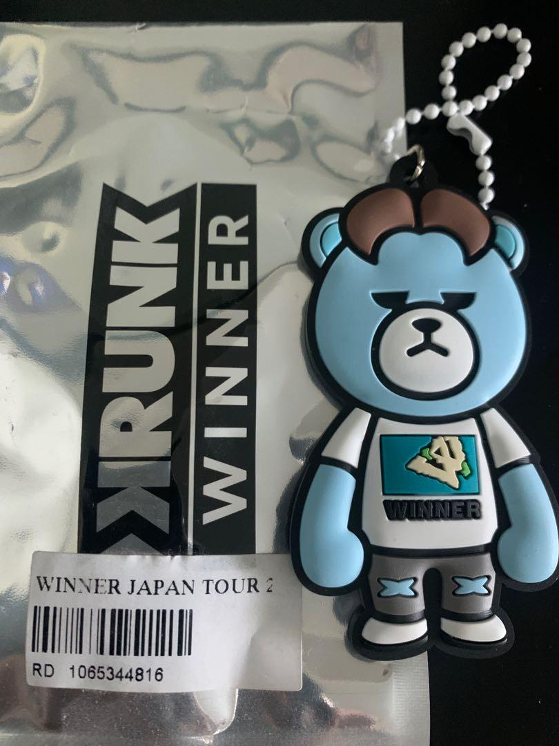 NEW WINNER 2018 Japan Tour Jinu Keychain