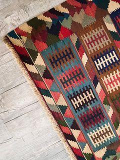 Turkish Flatweave Kilim (handwoven)
