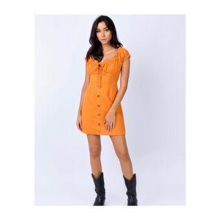 Princess Polly Mini Dress in Orange