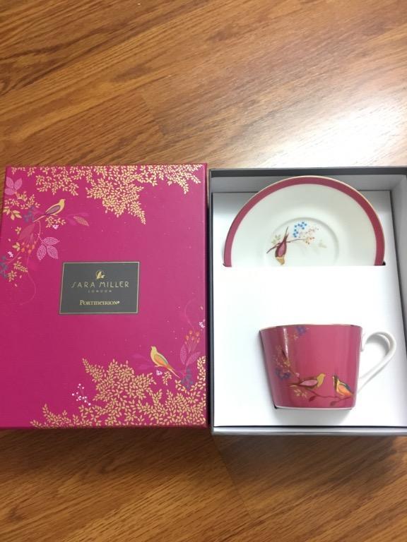 Sara Miller London Tea Cup and Saucer