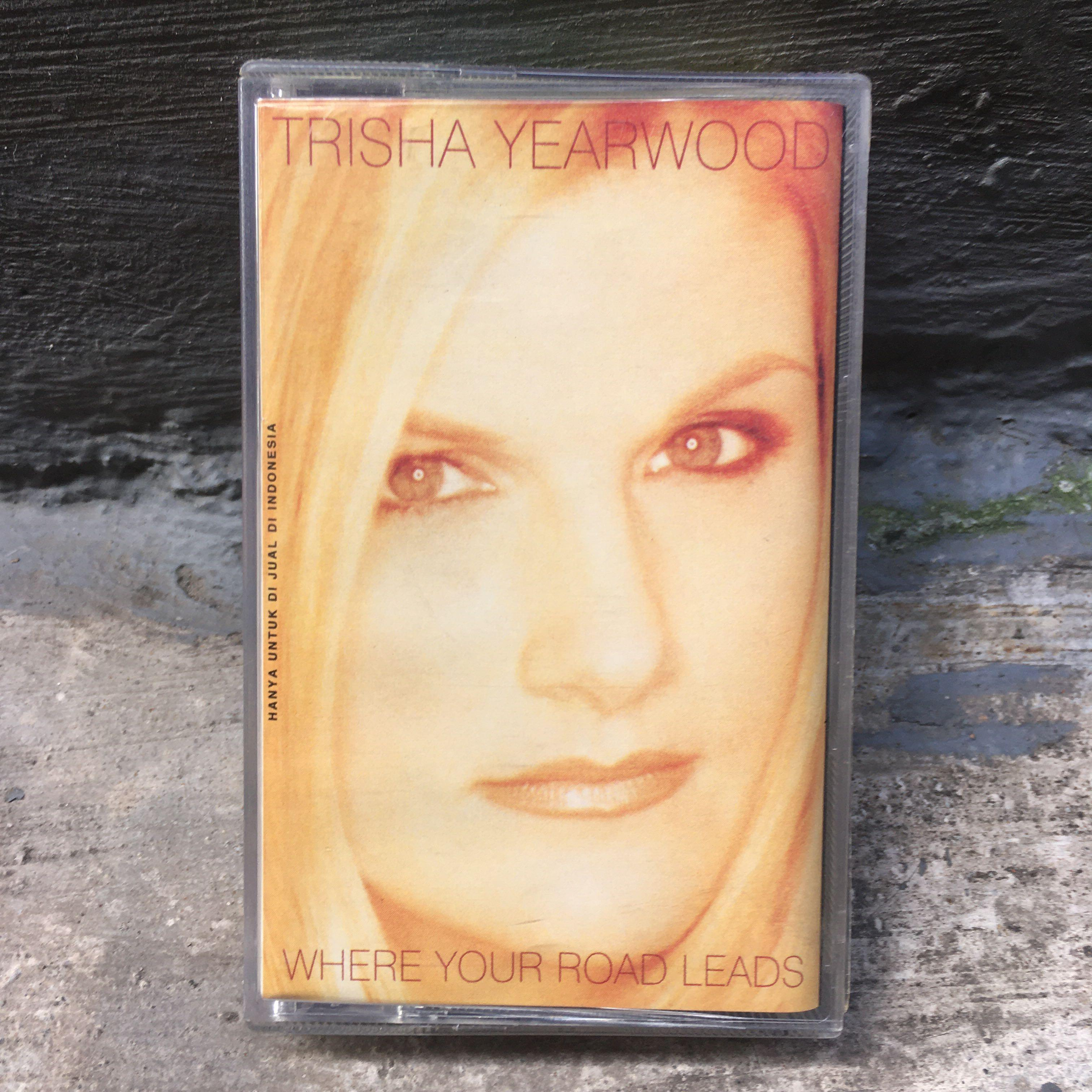 "Trisha Yearwood ""Where Your Road Leads"" Cassette"