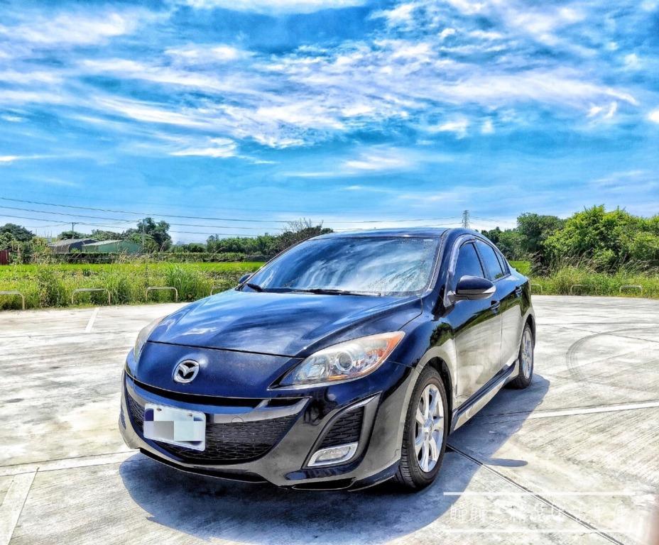 2010年 Mazda3 黑 2.0