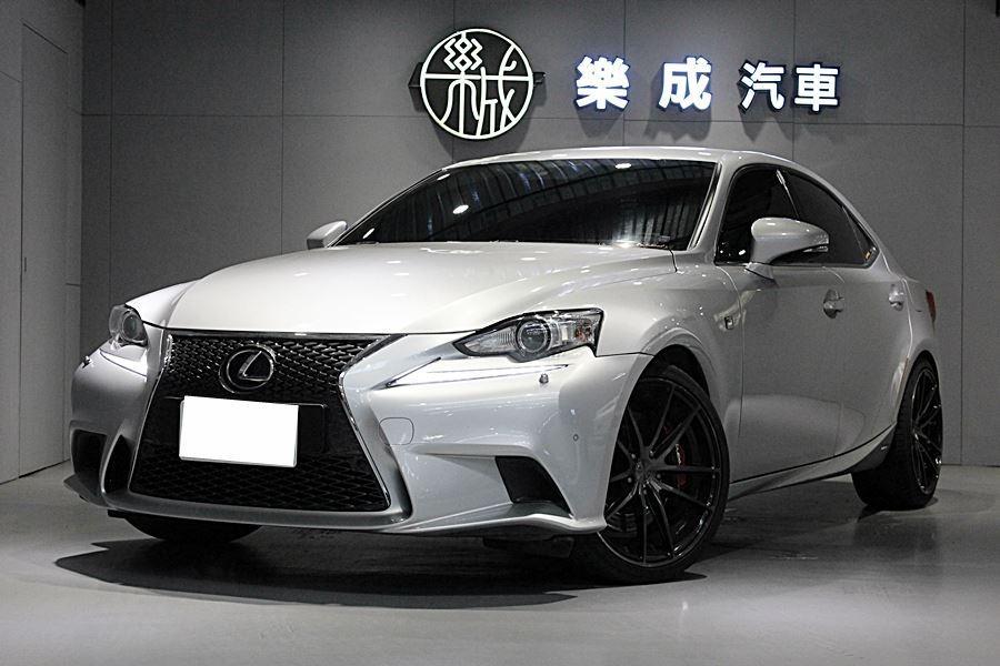 2014年 Lexus IS300h Fsport 大電瓶剛換,原廠保固中!現在買送全車貼膜!
