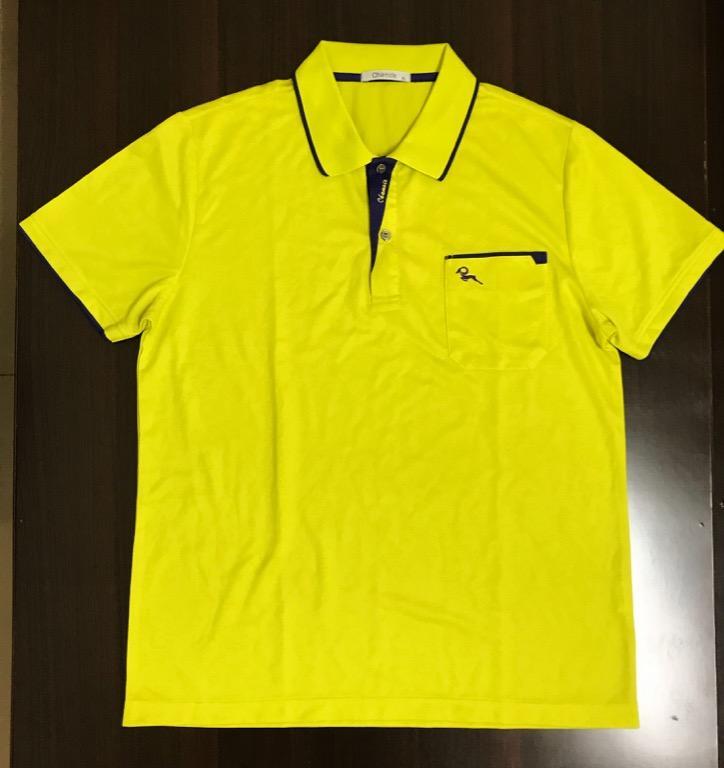 (搬家便宜出清,至7/28日止)芥末黃polo衫(若購買本賣場其他商品,可免費加購/僅穿兩次)