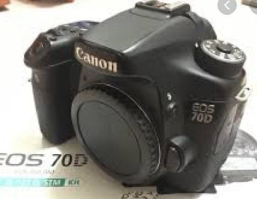 二手 CANON 70D 公司貨 單機身9成新 檢配 非60D 750D 760D
