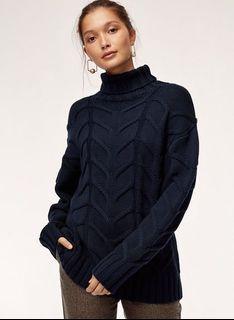 Aritzia Wilfred Champeaux Sweater in Starboard Size XS
