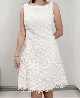 Authentic Kate Spade White Lace Dress