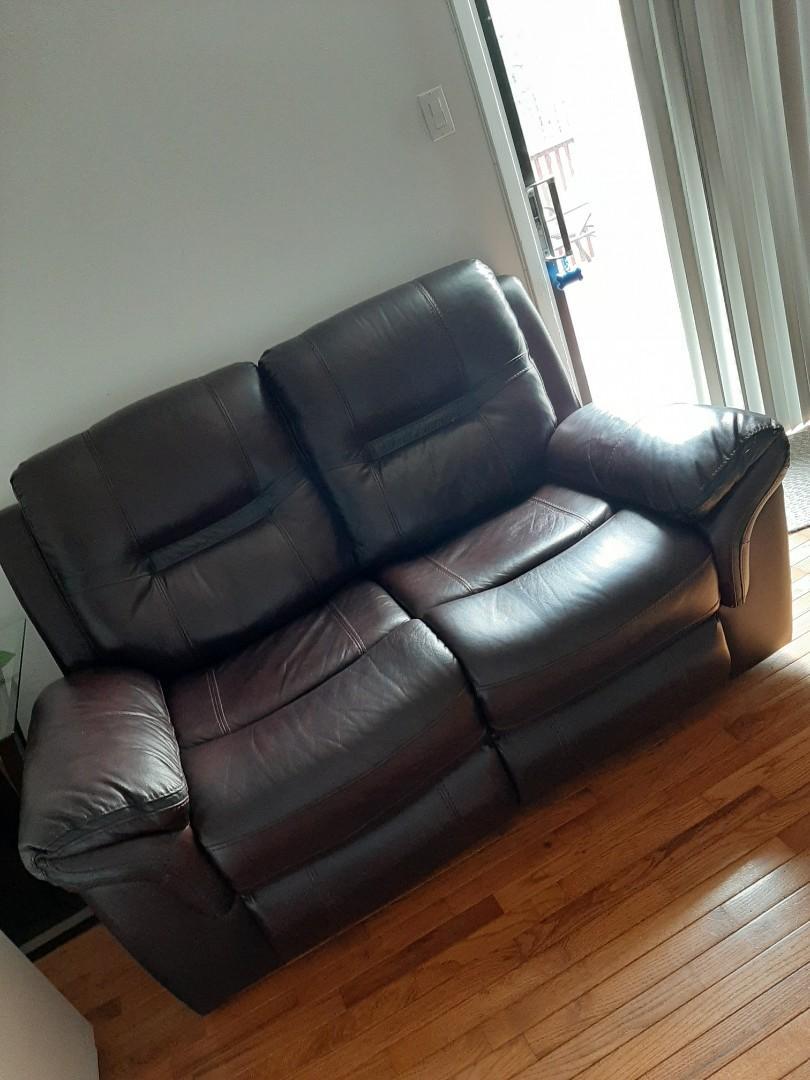 BadBoy Leather Reclining Sofa