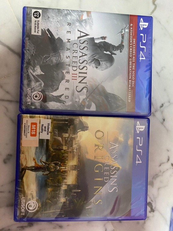 Bn Ps4 Bundle Deal Assassin S Creed Iii Remastered Ps4