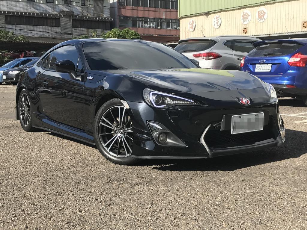 FB搜尋【世康中古車買賣】《熱門車款》2012年豐田 FT86 黑 頂級
