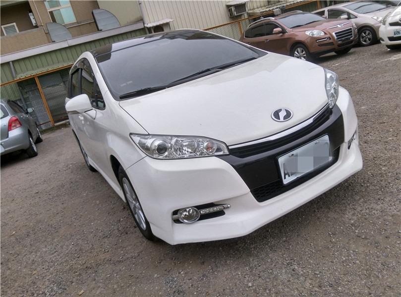 FB搜尋【世康中古車買賣】《熱門車款》2013年豐田 WISH 2.0J 白色