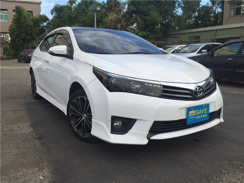 FB搜尋【世康中古車買賣】《熱門車款》2014年豐田 1.8 ALTIS Z 白