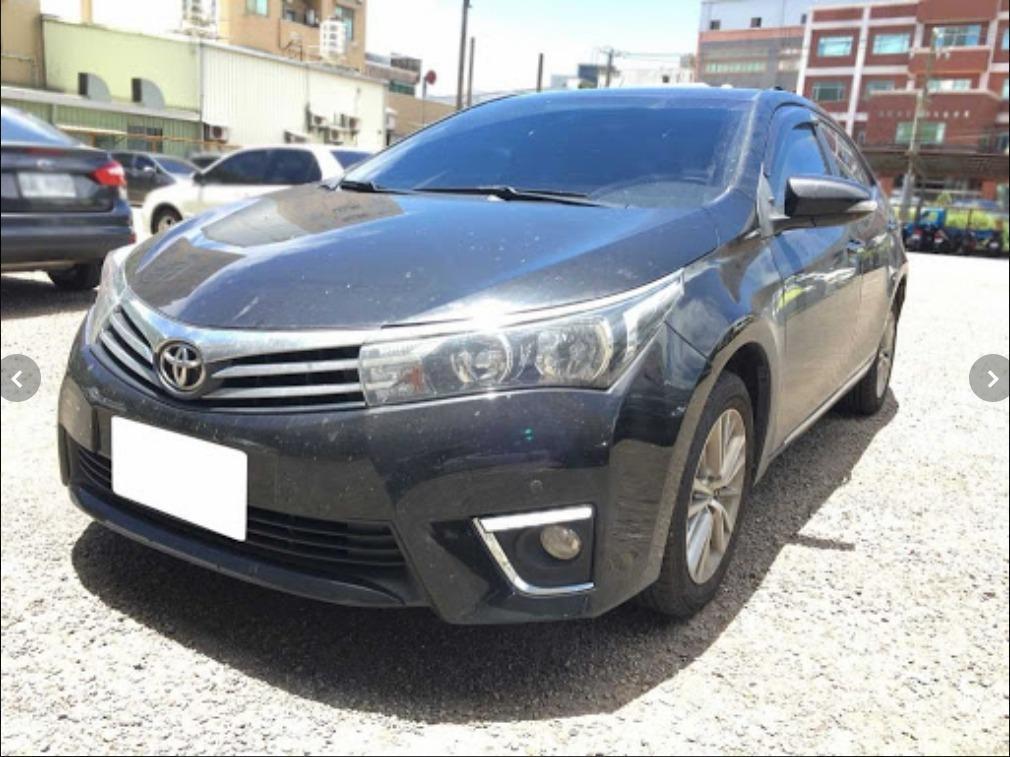 FB搜尋【世康中古車買賣】《熱門車款》2015年豐田1.8 ALTIS S版 黑