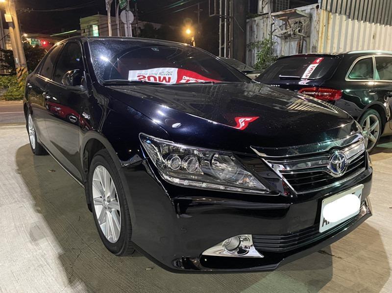 【FB搜尋桃園阿承】豐田 超人氣CAMRY油電跑9萬 2014年 2.5CC 黑色 二手車 中古車