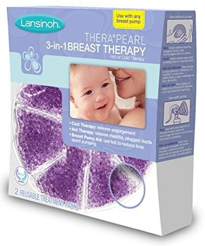 Hot & cold breast pad therapy