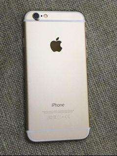 iPhone 6 GOLD 32GB 9.5/10 (Camera blurred by laser etching)