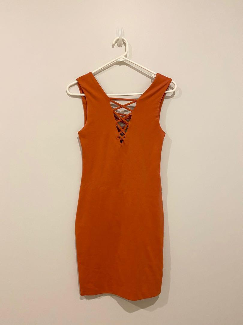Kookai Orange Dress