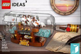 樂高LEGO ideas 21313 經典絕版 瓶中船