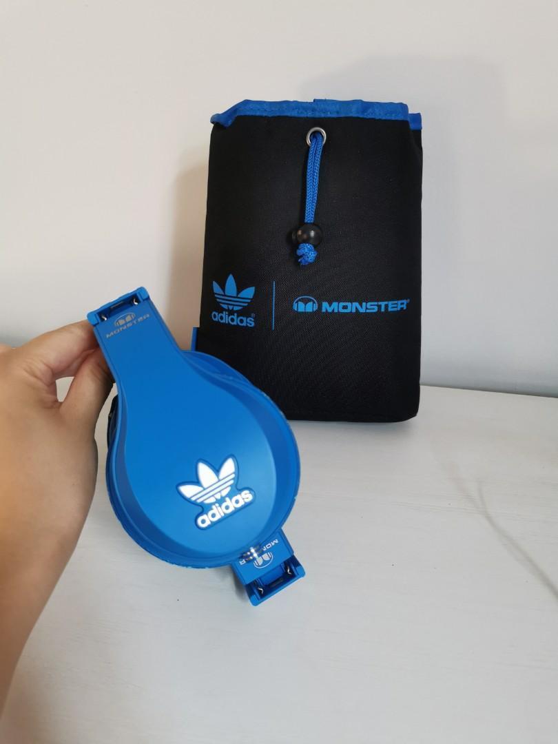 Limited Ed Monster Adidas Original Over Ear Headphone.