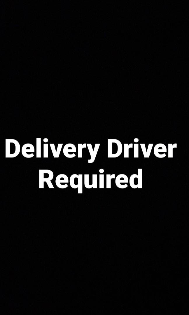 Looking for delivery drivers