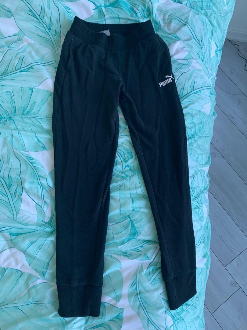 Puma Black Sweatpants size xs
