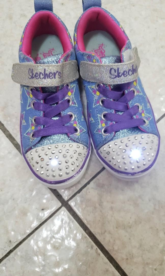 Skechers Twinkle toes shoes, 兒童&孕婦