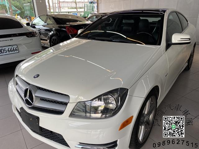 2011 Benz w204 c250 COUPE