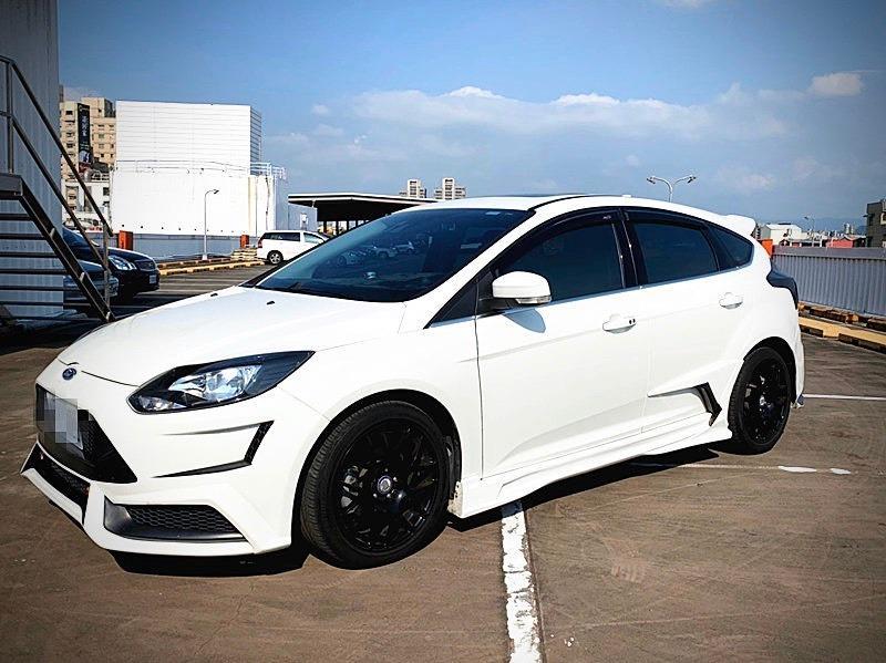 2013年 福特 Focus 2.0S柴油 白