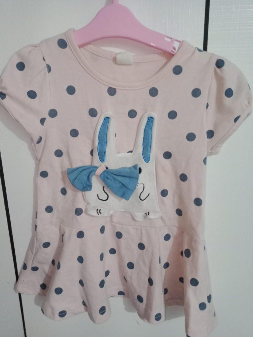 女童兔子洋裝