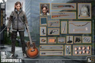 [預訂] CCToys Elli Ellie < The Last of Us Part 2 > 1/6 可動人偶模型 The Last Survivor 最後生還者